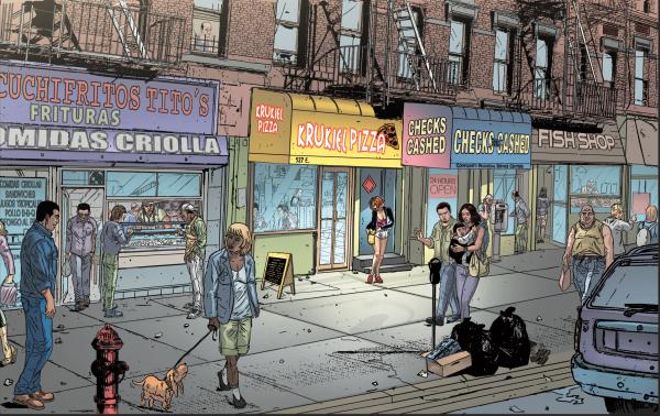 Bronx-scene